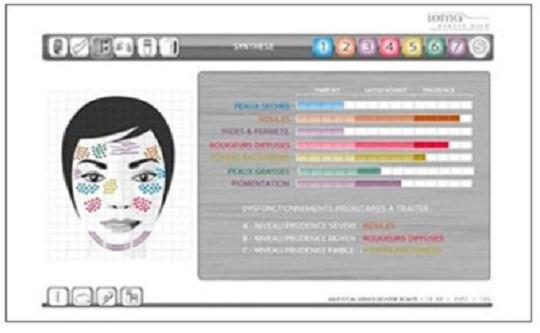 Εξατοομικευμένη θεραπεία για δερματικά προβλήματα, ρυτίδες, πανάδες, με skin scanner